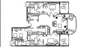 Ritz Carlton 3 Bedroom Floor Plan